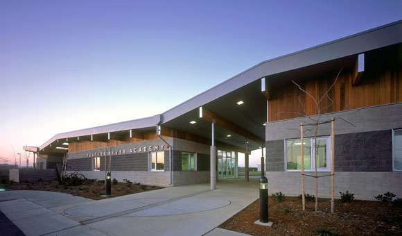 Feather River Academy, Yuba City, California, by Anthony Poon (while w/ A4E, photo by Gregory Blore)