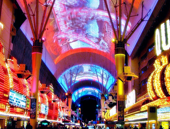 Fremont Street Experience, Las Vegas, Nevada, by The Jerde Partnership