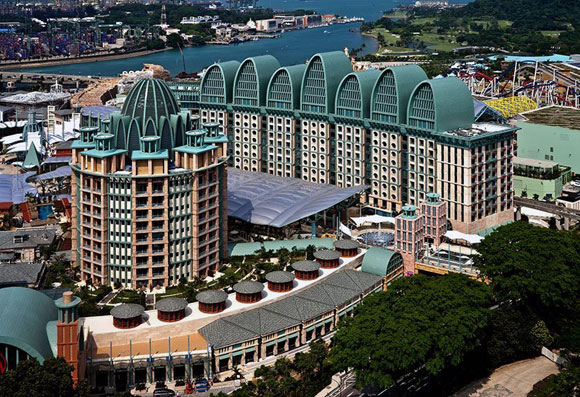 Hotel Michael, Sentosa, Singapore, by Michael Graves (Photo by MGA&D)