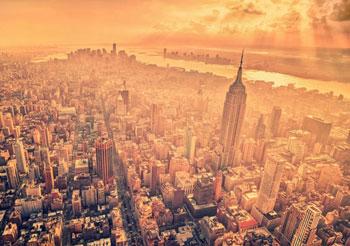 Summer haze, New York, New York (photo by Kaylin Pound)