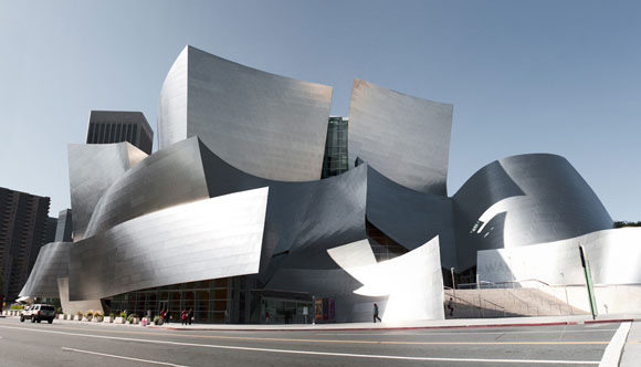 Walt Disney Concert Hall by Gehry, Los Angeles, California (photo by Patrick Krabeepetcharat)