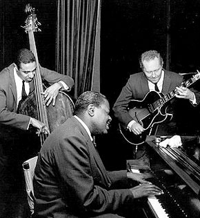 Oscar Peterson Trio (photo by Paul Hoeffler)