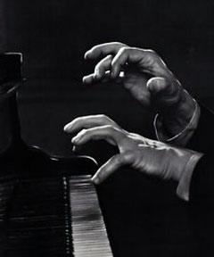 Hands of Arthur Rubenstein (photo by Yousuf Karsh)