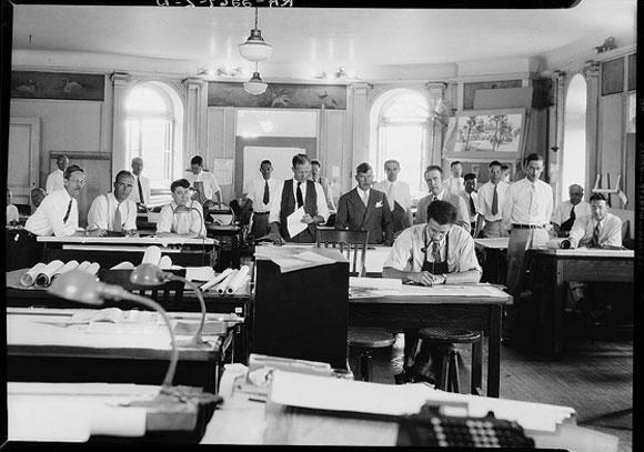 1940's architects (public domain, photo from wikipedia.com)