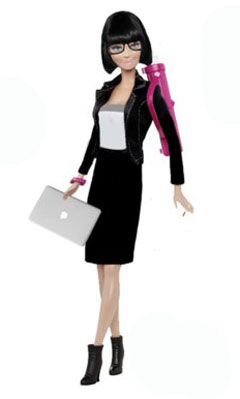 Architect Barbie (photo from bldgdreams.tumblr.com)