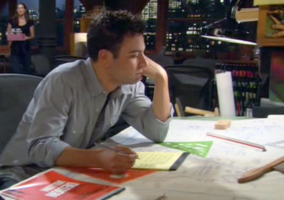 Popular TV actor Josh Radnor playing ten seasons of the beloved architect Ted Mosby, from How I Met Your Mother