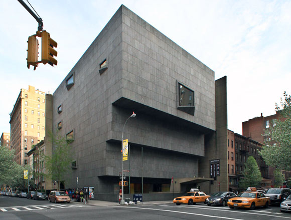 Whitney Museum of American Art, New York, New York, by Marcel Breuer (photo by Fred R. Conrad)