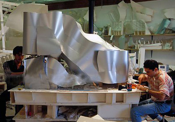 The Model Shop at Gehry Partners, Los Angeles (photo by Thomas Mayer)