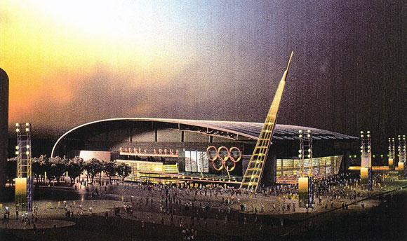 Arena for 2000 Olympics, Sydney, Australia, by Anthony Poon (w/ NBBJ)