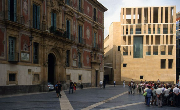 Murcia Town Hall, Spain, by Rafael Moneo (photo from metalocus.es)
