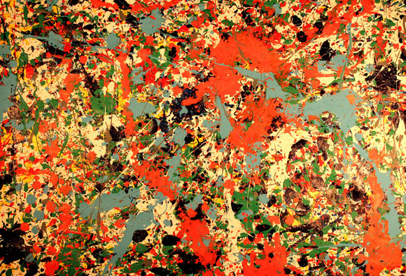 Convergence, by Jackson Pollock, 1952