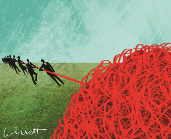 Art of red tape (source unknown)