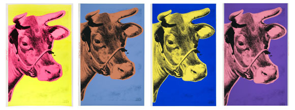 Cows, by Andy Warhol, 1966