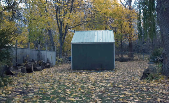 The dreaded shed in Room, 2015