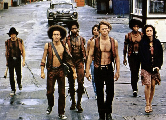 Gearing up for a turf battle in Warriors, 1979