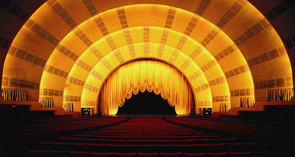 Renovation of Radio City Music Hall, New York, New York, by Hugh Hardy w/ HHPA (photo by Radio City Music Hall)