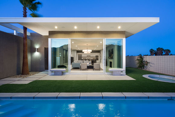 Horizon Residence, Palm Springs, California, by Poon Design (photo by Lance Gerber)