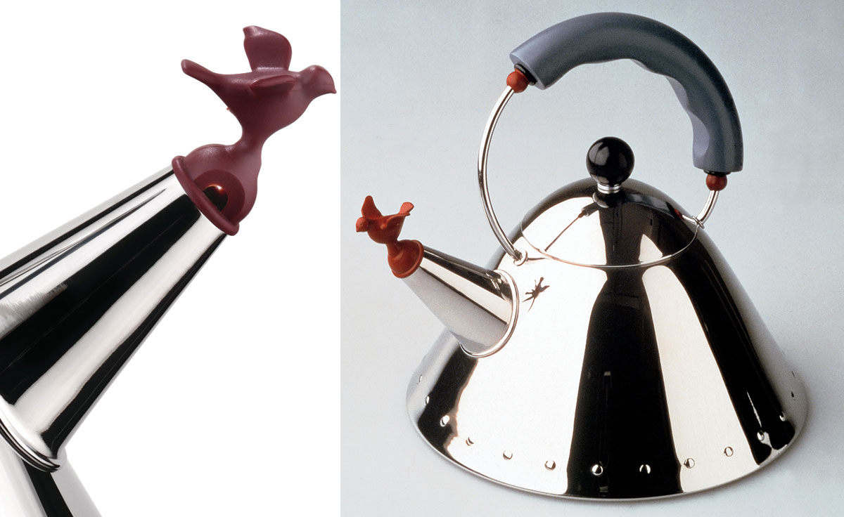 Teapot from Target, by Michael Graves, photo by Kean University