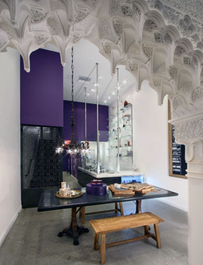 Vosges Haut-Chocolat retail store, Beverly Hills, California, by Poon Design