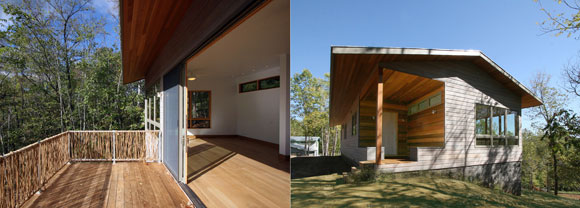 Meditation Retreat House by Poon Design