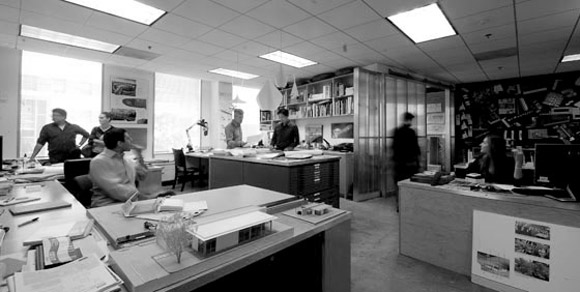 Studio area at Poon Design (photo by Danny Yee)