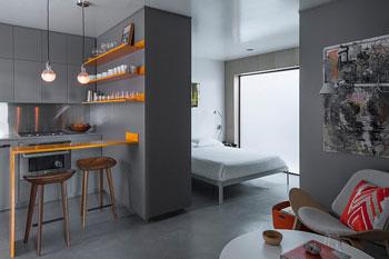 Micro-Apartment, Venice, California, by Vertebrae Architecture