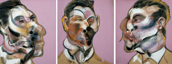 Three Studies of George Dyer, 1967, by Francis Bacon
