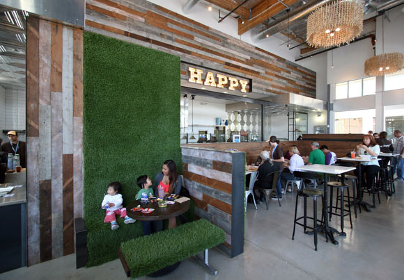 Mendocino Farms, Los Angeles, California, by Poon Design