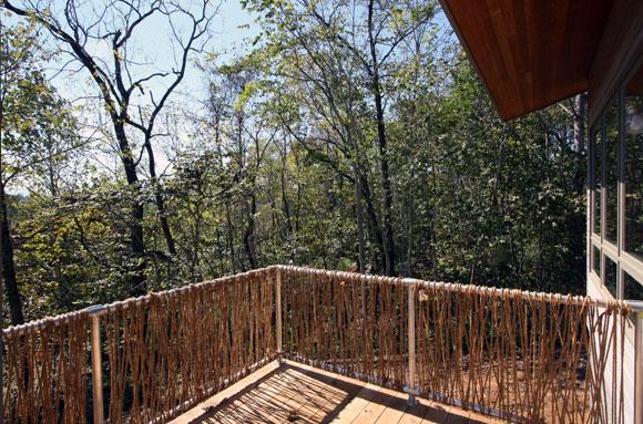 Meditation Retreat House, Blue Ridge Mountains, Virginia, by Poon Design
