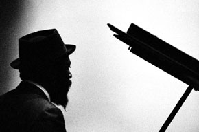 Thelonious Monk at the piano, from www.thewinehousemag.com