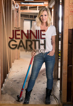 Actress Jennie Garth from the TV series Beverly Hills, 90210. Credentials as a contractor and architect?