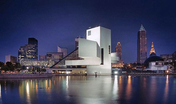Rock and Roll Hall of Fame & Museum, Cleveland, Ohio, by Pei Cobb Freed & Partners (photo by Timothy Hursley)
