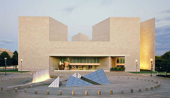 East Building, National Gallery of Art, Washington D.C., by I.M. Pei & Partners (photo by National Gallery of Art)