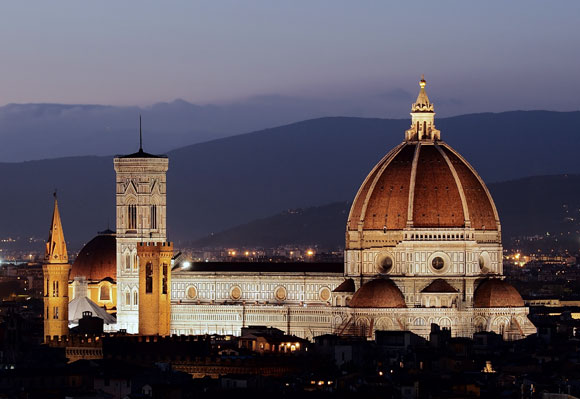 Cathedral of Saint Mary of the Flowers, Florence, Italy, by Arnolfo di Cambio (photo by Petar Milosevic)