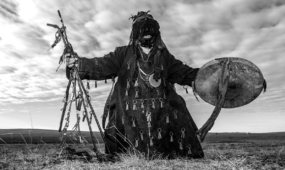 Mongolian Shaman (photo from toursmongolia.com)
