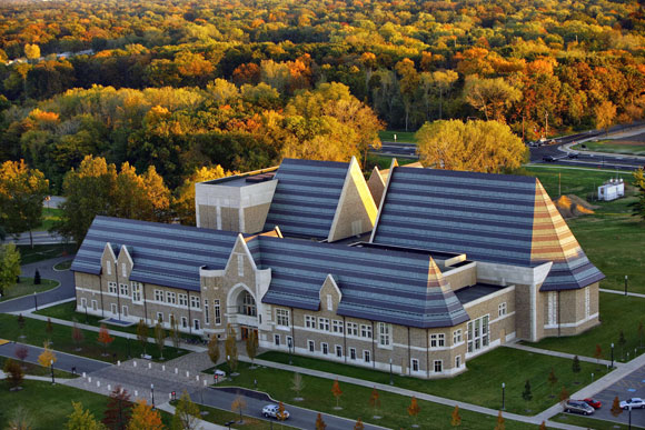 DeBartolo Performing Arts Center, University of Notre Dame, Indiana, by Anthony Poon (w/ HHPA, photo by Pfeiffer Partners)