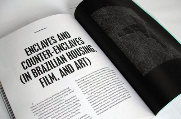 The sometimes impenetrable text of the Harvard Design Magazine (photo from vazio.com)