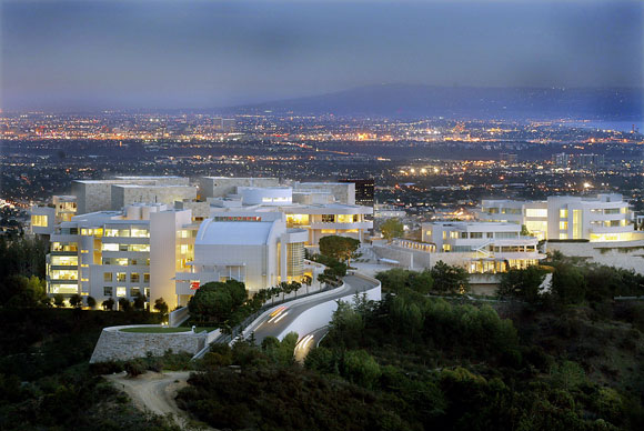 The Getty Center, Los Angeles, California (photo by Gary Friedman / Los Angeles Times)