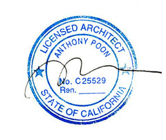 California State Seal of Licensed Architect