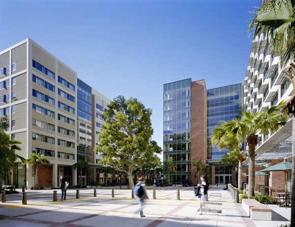 Northwest Campus Student Housing, University of California, Los Angeles, by Anthony Poon (w/ HHPA, photo by Michael Moran)