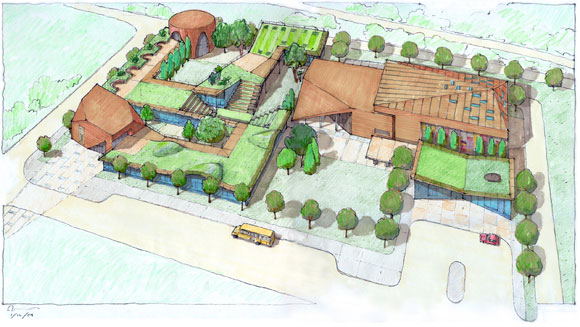 Pacifica Christian High School, Culver City, California, by Poon Design