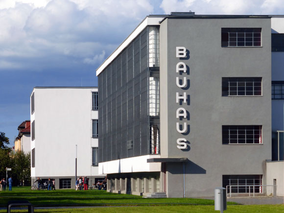 The Bauhaus, Dessau, Germany (photo from aoaonline.ir)