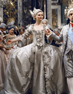 Kirsten Dunst in Marie Antoinette, 2006