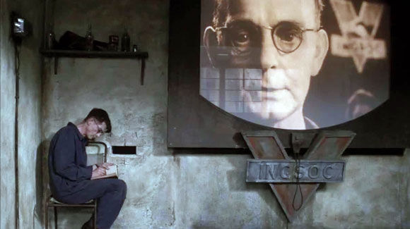 Victim and government, from Nineteen Eighty-Four (1984)