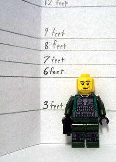 Measuring Lego-style (photo from saber-scorpion.com)