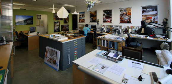 Poon Design's previous studio, Beverly Hills (photo by Anthony Poon)
