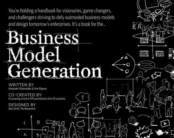 Book cover of Business Model Generation by Alexander Osterwalder & Yves Pigneur